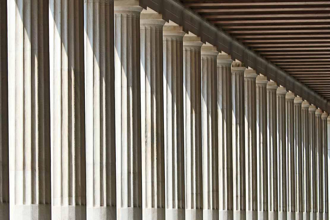 colonnato greco