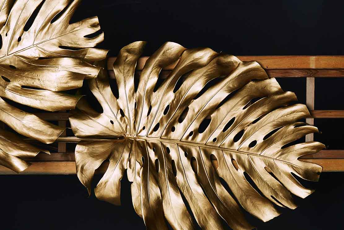 foglie oro - luxury